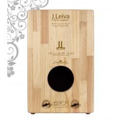 J.Leiva Percussion Cajon Viva Black Edition